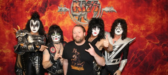 Kiss at Tokyo Dome with Stefan Nilsson