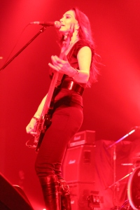 Beth-Ami Heavenstone of Graham Bonnet Band Photo: Stefan Nilsson