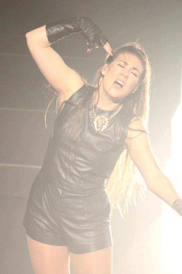 Elize Ryd of Amaranthe Photo: Stefan Nilsson