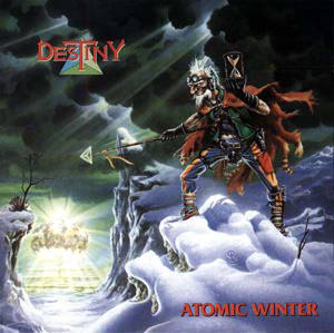 "Derek Riggs' cover art for ""Atomic Winter"""