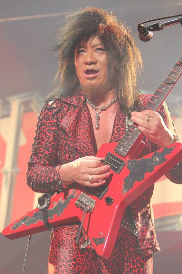 Akira Takasaki of Loudness Photo: Stefan Nilsson