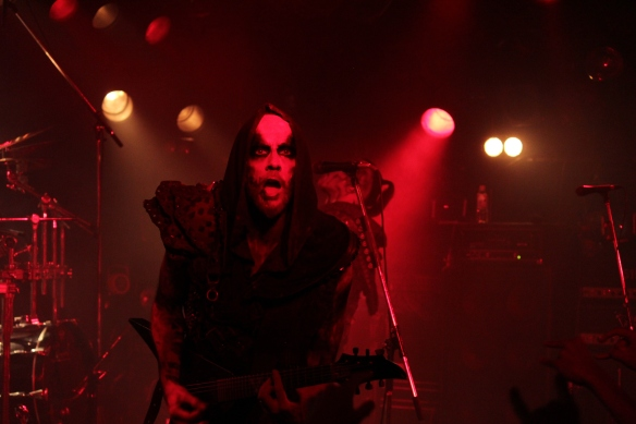 Nergal of Behemoth. Photo: Stefan Nilsson