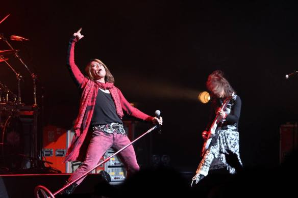 Earthshaker onstage in Roppongi. Photo: Stefan Nilsson