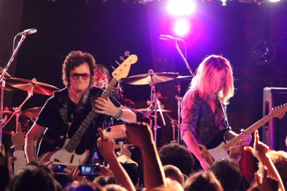 Glenn Hughes, Pontus Engborg and Dough Aldrich. Photo: Stefan Nilsson