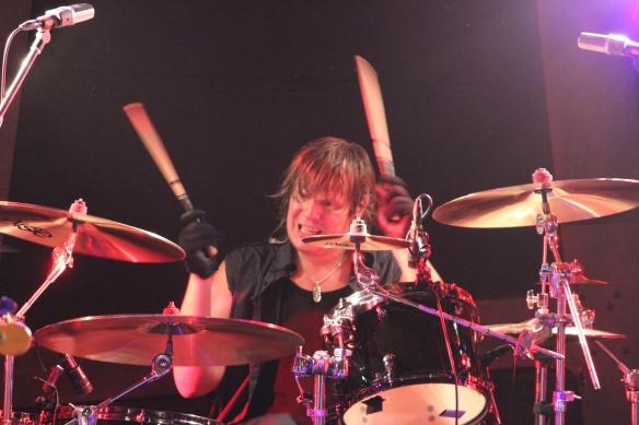 Pontus Engborg onstage in Tokyo. Photo: Stefan Nilsson