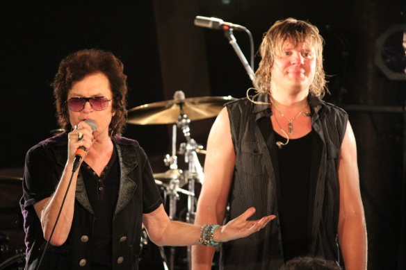 Glenn Hughes and Pontus Engborg. Photo: Stefan Nilsson