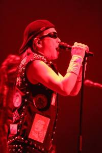Loudness onstage in Roppongi. Photo: Stefan Nilsson