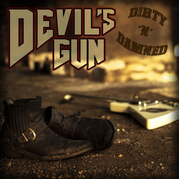 Devils Gun - Dirty n Damned - Artwork