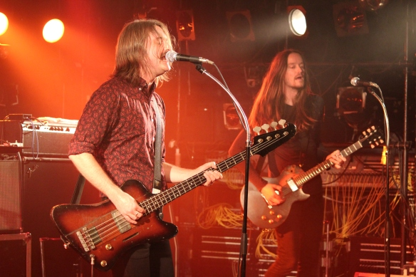 The Datun's Dolf de Borst and Phil Somervell onstage in Tokyo. Photo: Stefan Nilsson
