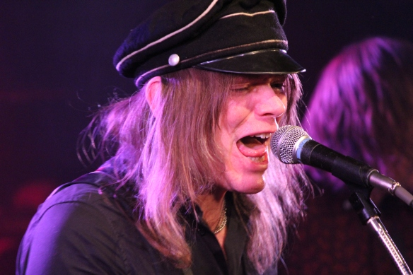 Nicke Andersson of Imperial State Electric onstage in Tokyo. Photo: Stefan Nilsson