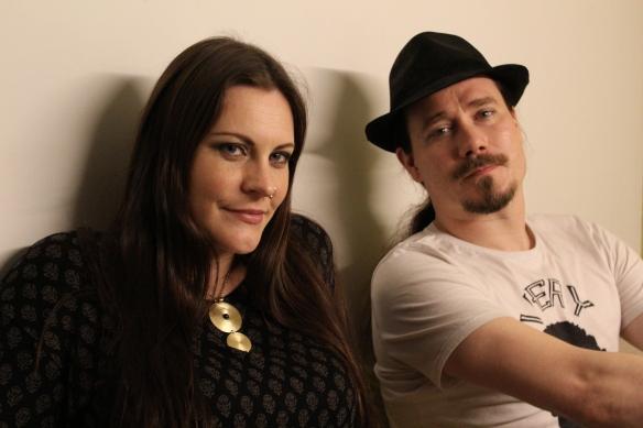 Floor Jansen and Tuomas Holopainen of Nightwish in Tokyo. Photo: Stefan Nilsson