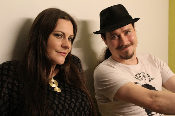 Floor Jansen and Tuomas Holopainen of Nightwish in Tokyo. Photo: Stefan Nilsson