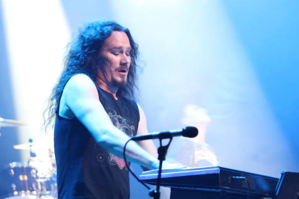 Tuomas Holopainen of Nightwish onstage in Tokyo. Photo: Stefan Nilsson