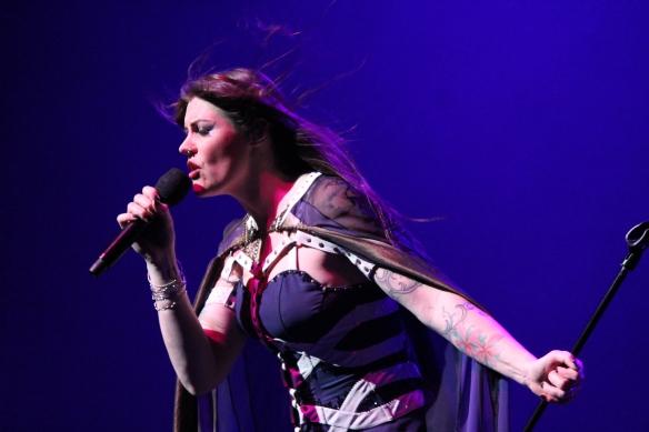 Floor Jansen of Nightwish in Tokyo. Photo: Stefan Nilsson