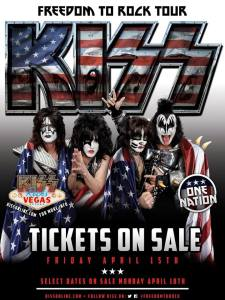 KISS Freedom To Rock