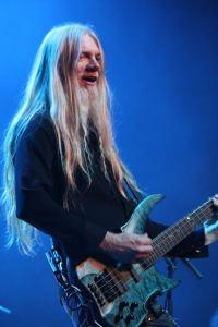 Marco Hietala of Nightwish onstage in Tokyo. Photo: Stefan Nilsson