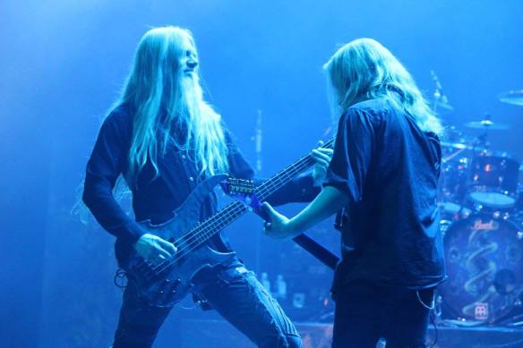 Marco Hietala and Emppu Vuorinen of Nightwish. Photo: Stefan Nilsson