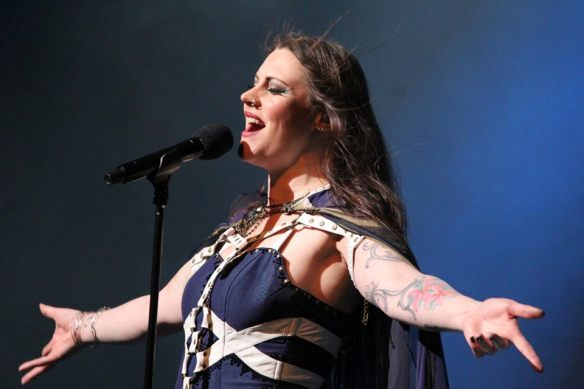 Floor Jansen of Nightwish. Photo: Stefan Nilsson