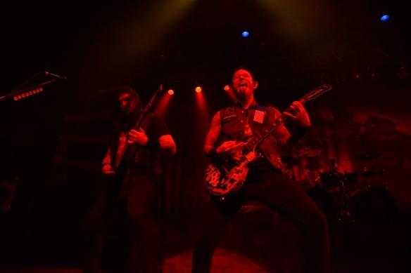 Trivium onstage in Tokyo. Photo: Masa Noda