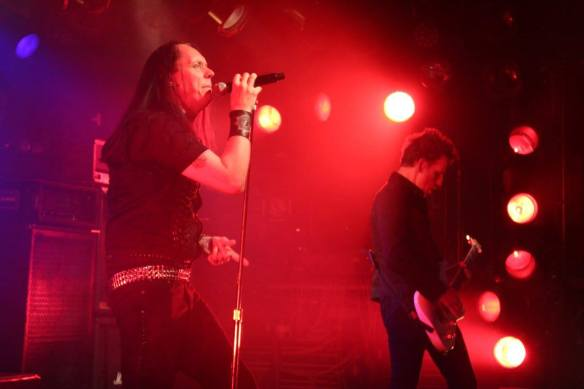 Johan Liiva and Christoipher Amott of Black Earth onstage in Tokyo, 17th May 2016. Photo: Stefan Nilsson