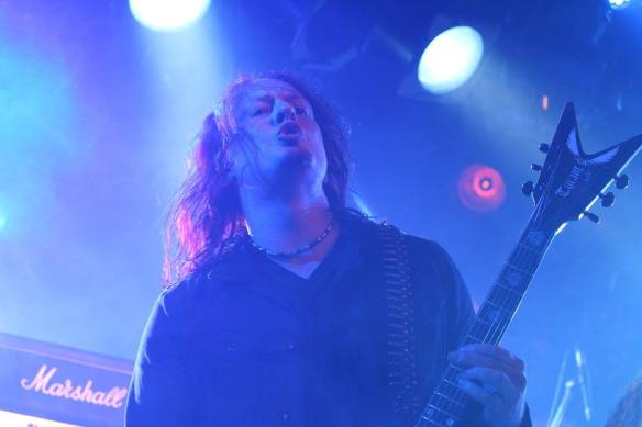 Michael Amott of Black Earth onstage in Tokyo, 17th May 2016. Photo: Stefan Nilsson