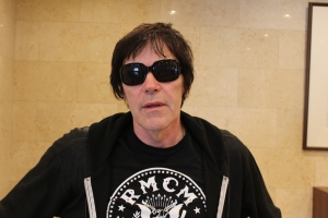 Richie Ramone in Tokyo, May 2016. Photo: Stefan Nilsson