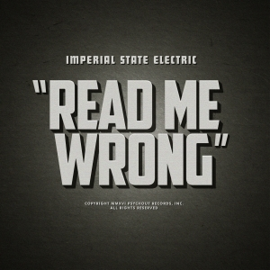 Imperial State Electric - Read Me Wrong - Artwork