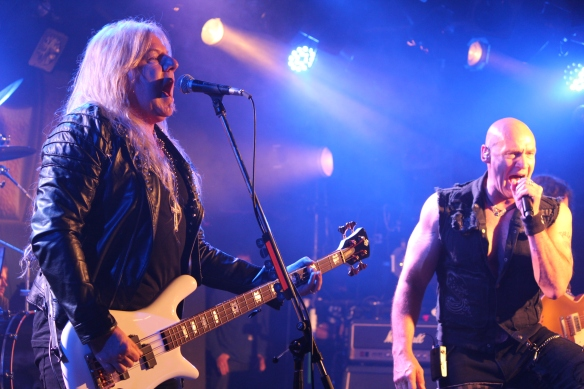 Mat Sinner and Ralf Scheepers, Primal Fear in Tokyo, June 2016. Photo: Stefan Nilsson