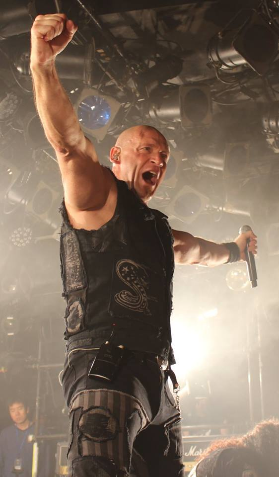 Ralf Scheepers of Primal Fear, Tokyo, Japan. Photo: Stefan Nilsson
