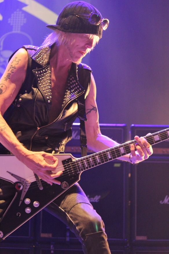 Michael Schenker on stage in Tokyo in 2015. Photo: Stefan Nilsson