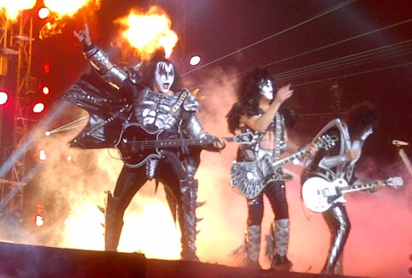 KISS on stage at Tokyo Dome in 2015. Photo: Stefan Nilsson