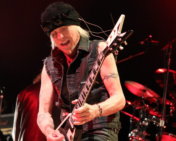 Michael Schenker on stage in Tokyo. Photo: Stefan Nilsson