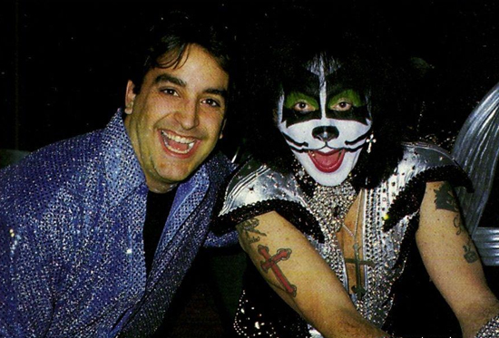 Ed Kanon and Peter Criss