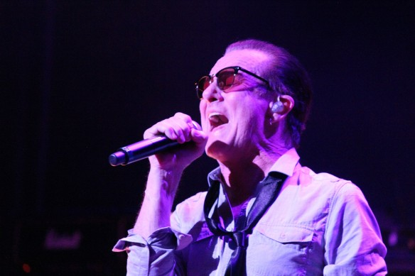 Graham Bonnet on stage with Michael Schenker Fest in Tokyo 2016. Photo: Stefan Nilsson