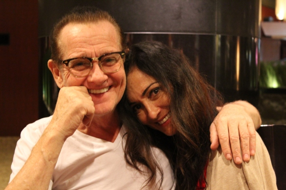 Graham Bonnet and Beth-Ami Heavenstone in Tokyo 2016. Photo: Stefan Nilsson