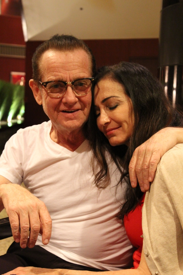 Graham Bonnet and Beth-Ami Heavenstone in Tokyo in 2016. Photo: Stefan Nilsson