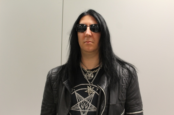 Lord Ahriman of Dark Funeral in Tokyo, 9th October 2016. Photo: Stefan Nilsson