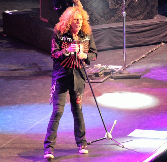 David Coverdale of Whitesnake on stage at Loud Park. Photo: Stefan Nilsson