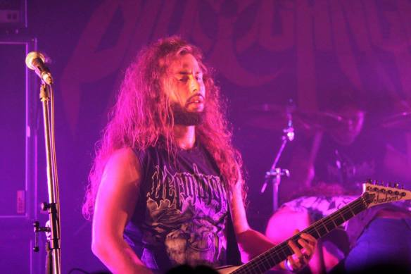 Bio-Cancer on stage at Japanese Assault Fest. Photo: Stefan Nilsson