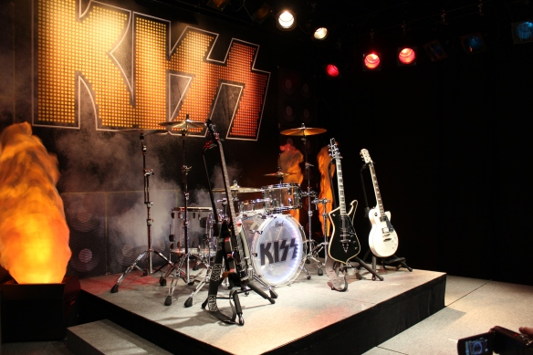 A KISS-themed stage at the KISS Expo in Tokyo, Photo: Stefan Nilsson
