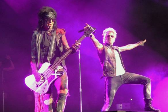Sixx:A.M. on stage in Tokyo in Oct 2016. Photo: Stefan Nilsson