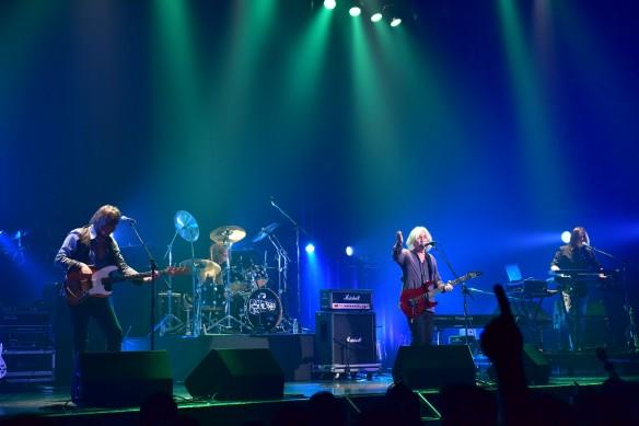 New England on stage at Club Citta. Photo: Yuki Kuroyanagi