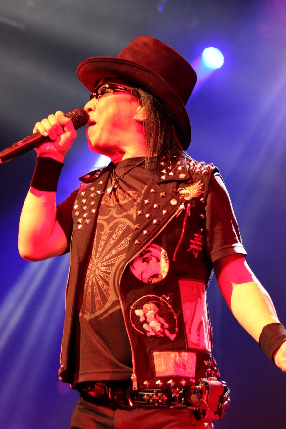 Minoru Niihara of Loudness. Photo: Stefan Nilsson