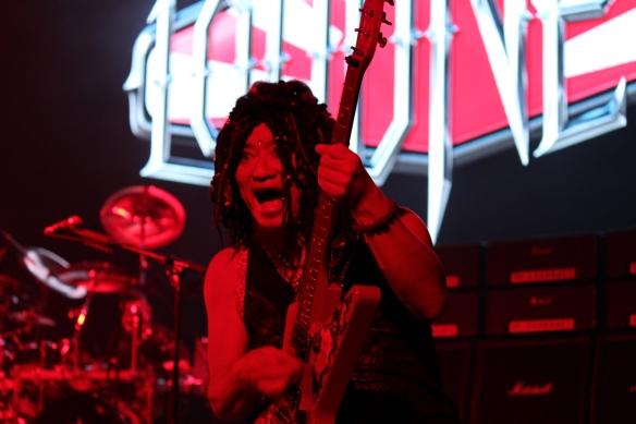 Akira Takasaki of Loudness. Photo: Stefan Nilsson
