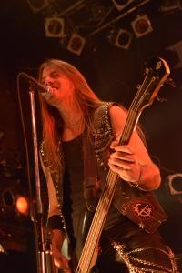Jonathan Olsson of Dynazty on stage in Tokyo | Photo: Masayuki Noda