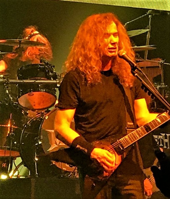 Gig review: Megadeth and Anthrax – Two of the Big Four ...